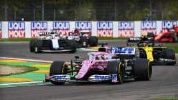 Llueven críticas a Racing Point por afectar podio de Checo