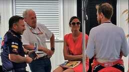 Regañaron a Ferrari y Red Bull por no usar cubrebocas