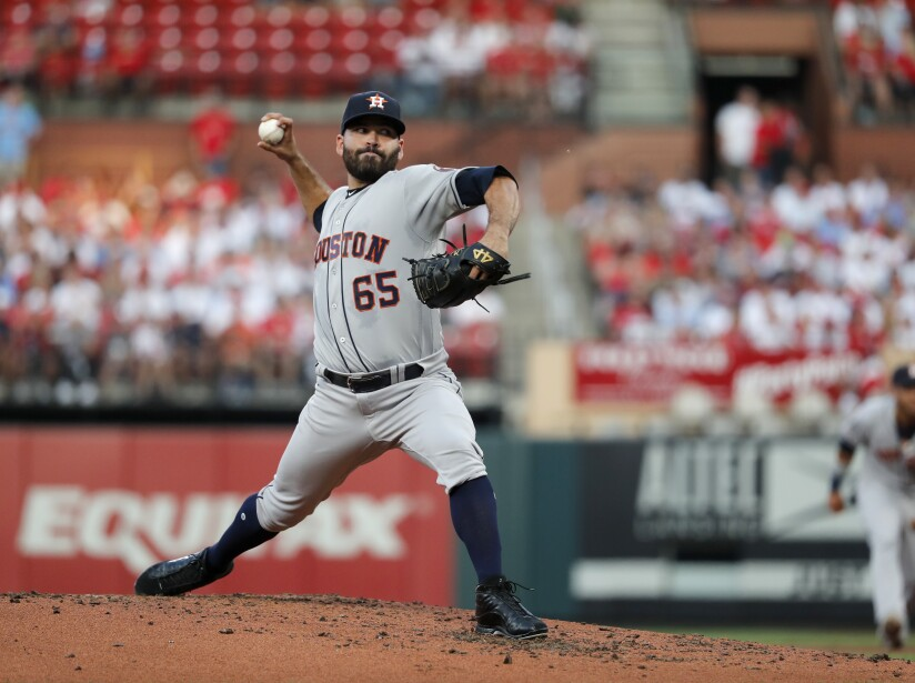 Ha sido fundamental en el andar de los Houston Astros por los playoffs de la MLB.