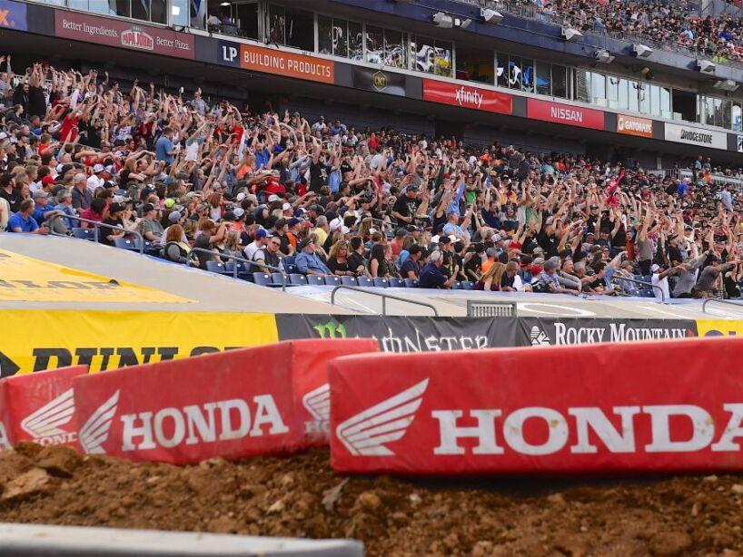 Monster Energy Supercross And St. Jude Charitable Event