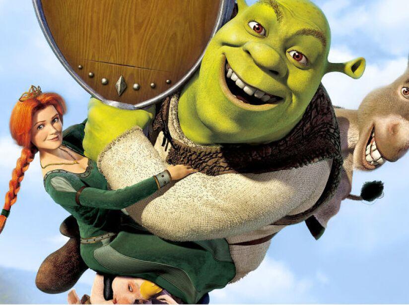 6. Shrek 2 recaudó 920 millones de dólares.
