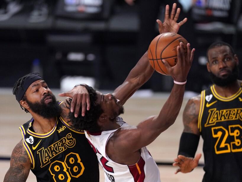 APTOPIX NBA Finals Heat Lakers Basketball