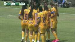 Golazos ponen a Tigres 3-0 y acariciando el liderato