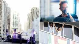 David Guetta tocó un concierto benéfico y armó una fiestota para sus vecinos en Miami