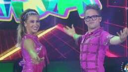 Marizel y Yurem bailan salsa en HOY, pero él dice que lo suyo es la huaracha