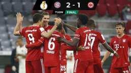 Bayern amarra su boleto a Semifinales de la Copa al vencer al Frankfurt