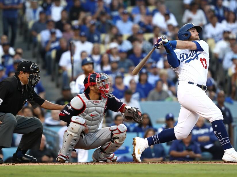 Washington Nationals gana la Serie Divisional 7-3 a Los Angeles Dodgers.