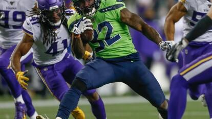 Seattle Seahawks 37-30 Minnesota Vikings