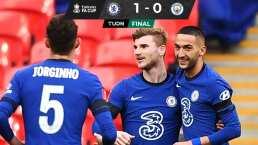 El Chelsea batió al Manchester City y va a la final de la FA Cup