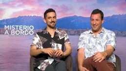 Entrevista: Adam Sandler y Luis Gerardo Méndez estrenan 'Misterio a Bordo'