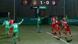 Equipo que vale 3MDE elimina al Atlético de Madrid en Copa del Rey