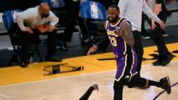 LeBron James sacude la mala racha de Lakers