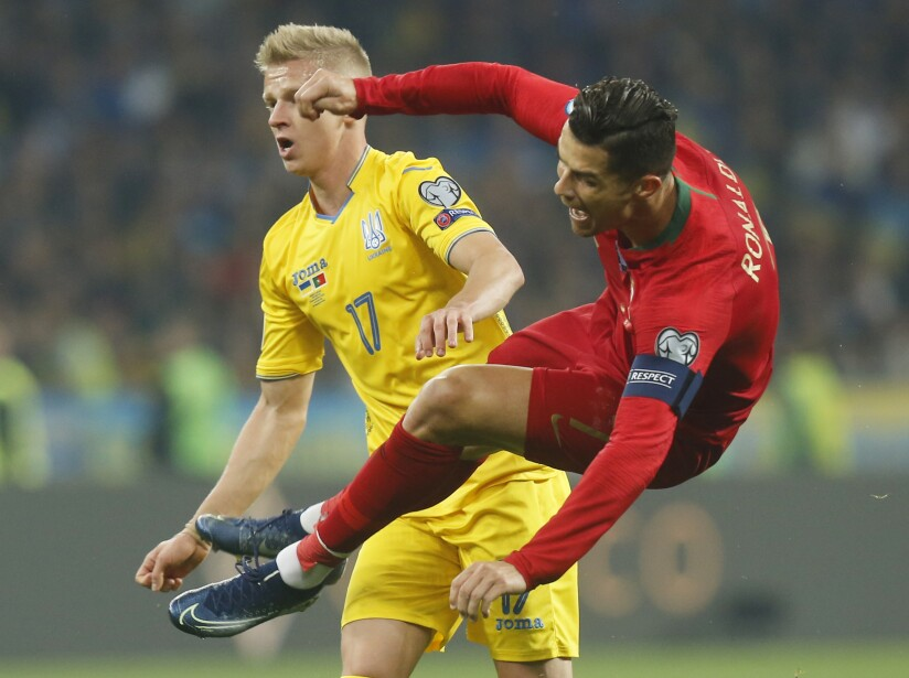 Ukraine Portugal Euro 2020 Soccer