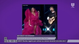 Beyoncé y Ed Sheeran cantan en vivo 'Perfect'
