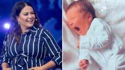 """Mariana Echeverria es una mamá primeriza que no superó la prueba de poner pañales: """"¡Reprobada!"""""""