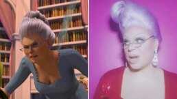 Drag sorprende con idéntica caracterización de la Hada Madrina de 'Shrek'