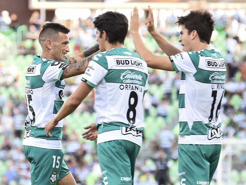 Santos Laguna se impone como local ante Puebla en la Jornada 4 del fútbol mexicano