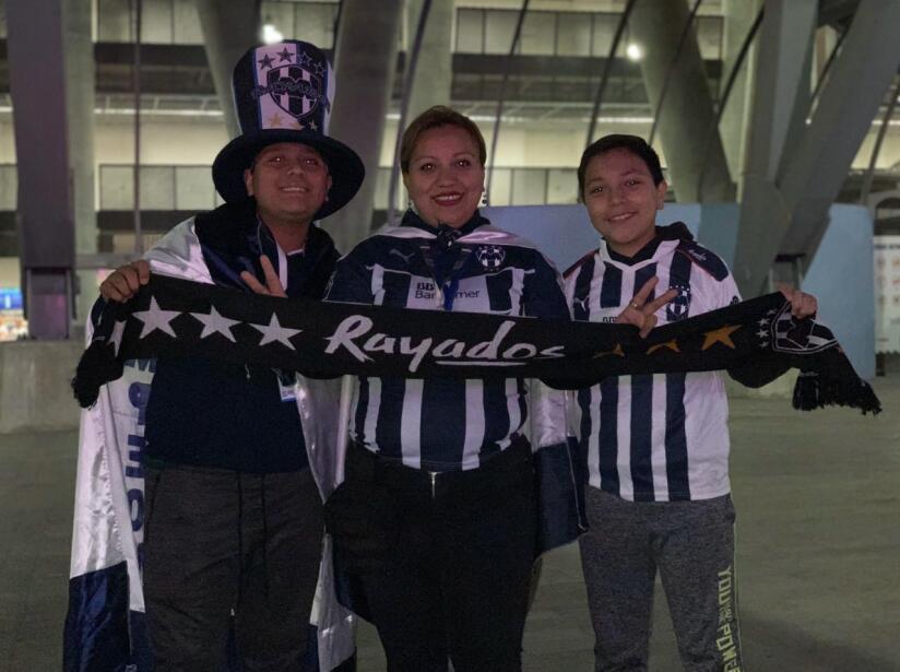 La afición de Monterrey ya está lista para apoyar a Rayados en el duelo de semifinales ante Necaxa.