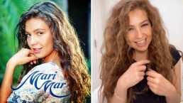Así recreó Thalía escena de la telenovela 'Marimar'