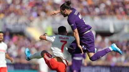 Fiorentina recibe a Juventus y dividen puntos en la tercera fecha de la Serie A.