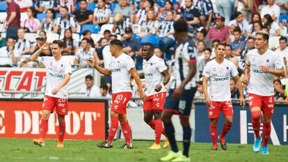 Necaxa derrota después de 19 años a Monterrey como visitante.