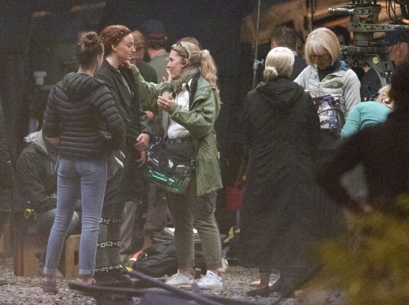 Sophie Turner es captada en el set de 'X-Men: Dark Phoenix'