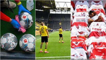 La Bundesliga, una de las cinco principales ligas del mundo, reanudó la actividad futbolística con todas las medidas preventivas necesarias para evitar contagios.