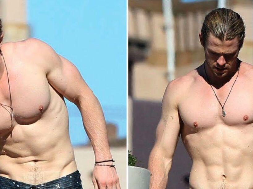 9. Chris Hemsworth: En 2014 fue nombrado por la revista People el hombre vivo más sexy, ¡te amamos Thor!