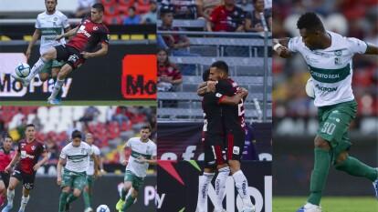 En partido de pocas llegadas el atlas se impone al Zacatepec por el marcador de 2-0.