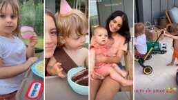 Chicharito celebra el cumpleaños de su hijo y Aislinn y Kailani fueron sus invitadas