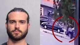 Video: el momento en el que Pablo Lyle golpea al hombre que murió en Miami