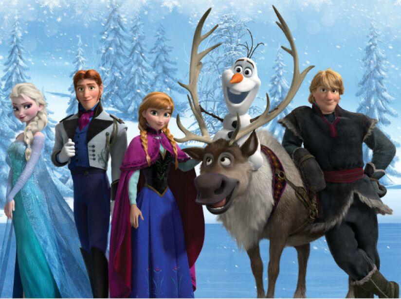 1. Frozen recaudó 1.270 millones de dólares.