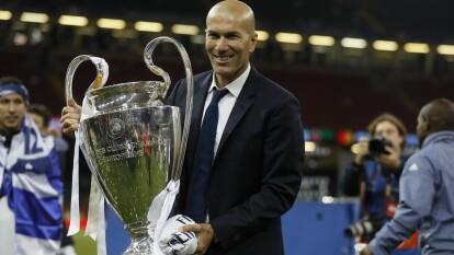 Con la victoria 3-0 del Real Madrid sobre el Valencia, Zinedine Zidane se ha ganado su lugar entre los tres entrenadores con más victorias en el Real Madrid.