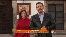 Confirmado César Evora en Hasta el fin del mundo