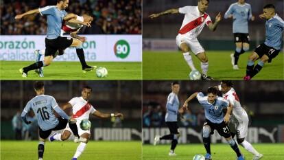 Con gol de Brian Rodríguez al minuto 17, Uruguay vence en casa a Perú.