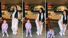 A Kima, la hija de Kimberly Loaiza, le gusta 'perrear hasta el piso' y así la presume la influencer