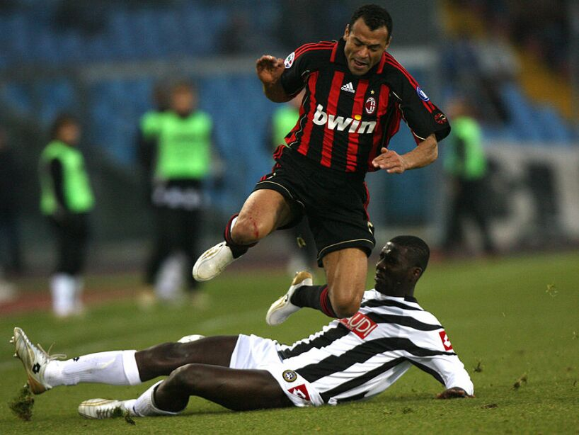 AC Milan's defender Cafu of Brazil ' is