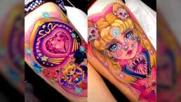 ¡Son bellísimos! Tatuadora mexicana presume en TikTok sus mejores diseños de Sailor Moon