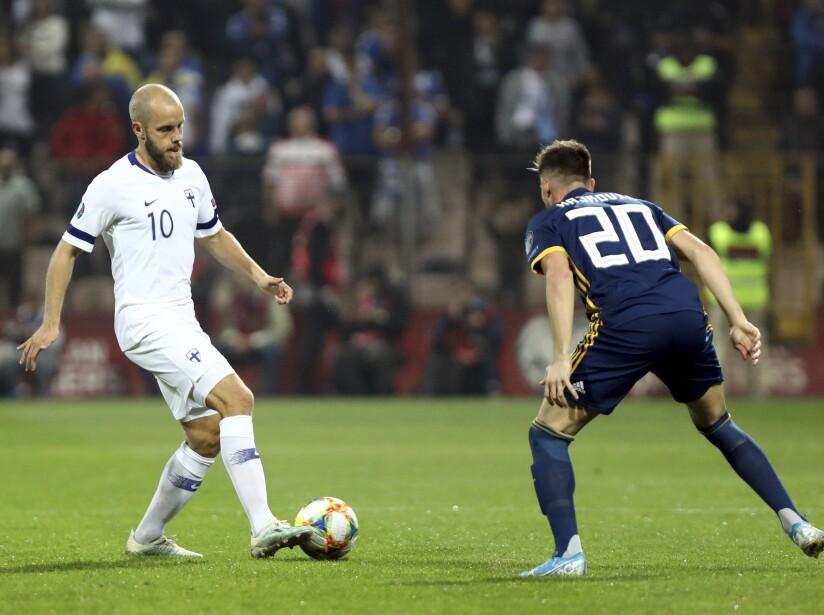 Bosnia Finland Euro 2020 Soccer