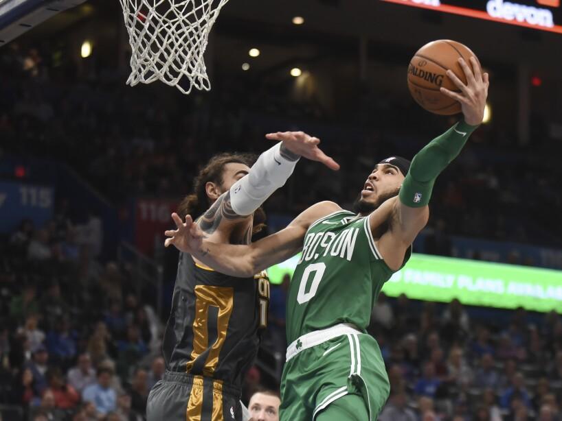 Celtics Thunder Basketball