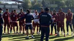 Juan Reynoso se presentó con los jugadores de Cruz Azul
