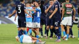 ¡Al Chucky no! Fuerte entrada sobre Lozano en Serie A