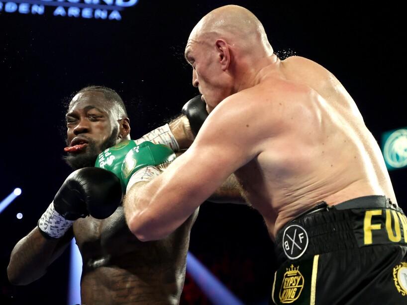 Deontay Wilder v Tyson Fury