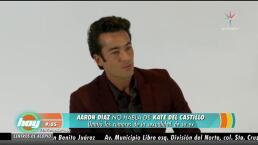 Aarón Díaz dejó en el pasado a Kate del Castillo