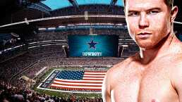 La pelea Canelo-Saunders puede ser en el estadio de los Cowboys