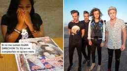 Celebran su cumpleaños cantándole 'One Direction to you' con todo y pastel (VIDEO)