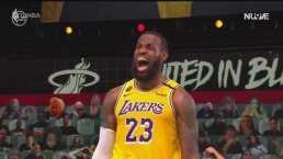 Resumen | Lakers se pone a uno del título de la NBA ante Heat