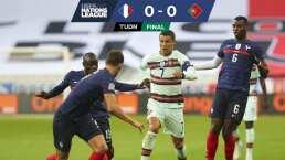 Donas entre Francia y Portugal en la Nations League