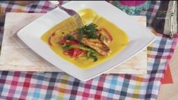 RECETA: Pechuga de pollo con salsa de calabaza de Castilla y chipotle