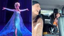 Desde su auto, Aislinn Derbez y su hija Kailani cantan juntas a todo pulmón 'Show Yourself' de 'Frozen'